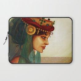 Sibylla, Queen of Jerusalem Laptop Sleeve
