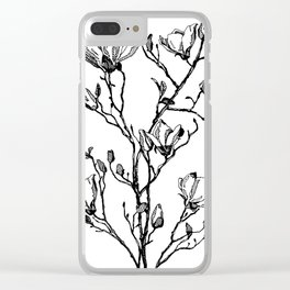 SPRING BUDS Clear iPhone Case