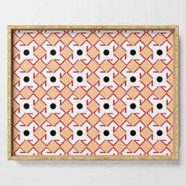 Antic pattern 10- from LBK ceramic colors Serving Tray