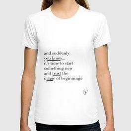 Trust the Magic T-shirt