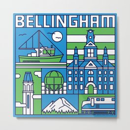 Bellingham, Washington Metal Print