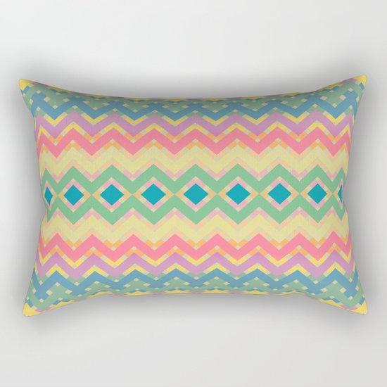 Summer-color Pattern Rectangular Pillow