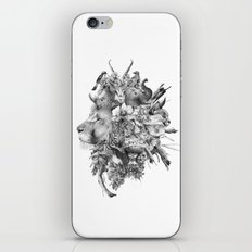 Kingdom of Monarchs (Black and White Version) iPhone & iPod Skin