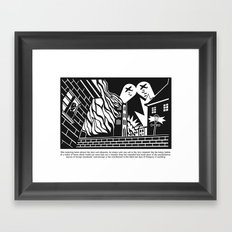 the third last days of pompery Framed Art Print