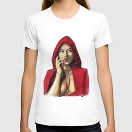 Monica Bellucci - Little Red Riding Hood 2 T-shirt