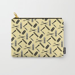 Barber Shop Pattern Carry-All Pouch