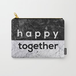 Happy Together Couples Quote Carry-All Pouch