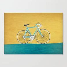 Enjoy The Ride Bike Canvas Print