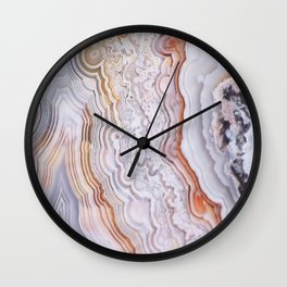 Crazy lace agate Wall Clock