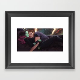I can't let go of you baby Framed Art Print