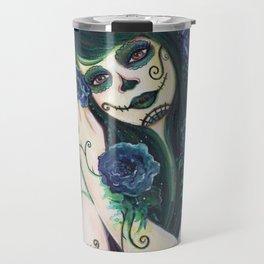 Adelita day of the dead Travel Mug