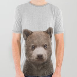 Baby Bear - Colorful All Over Graphic Tee