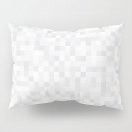 White Cubism Pillow Sham