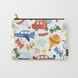 Kids Air Transportation Carry-All Pouch