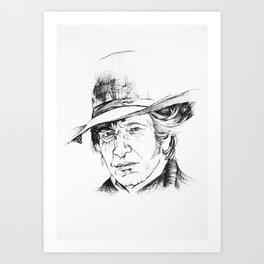 Colonel Art Print
