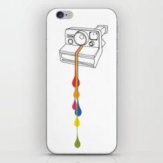 Polaroid Drips iPhone & iPod Skin