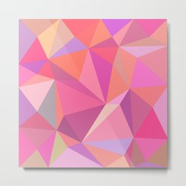 Triangle abstract Metal Print