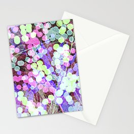 Dots & Leaves. Stationery Cards