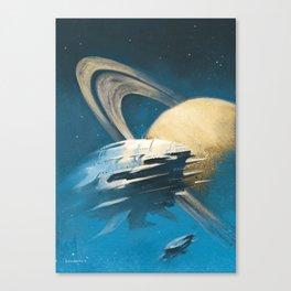 """""""The Saturn Run"""" Canvas Print"""