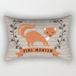 Pine Marten Rectangular Pillow