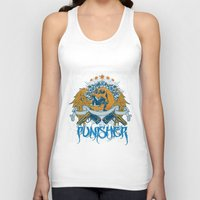 punisher Tank Tops featuring Punisher by Tshirt-Factory