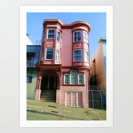 Not a Painted Lady Art Print