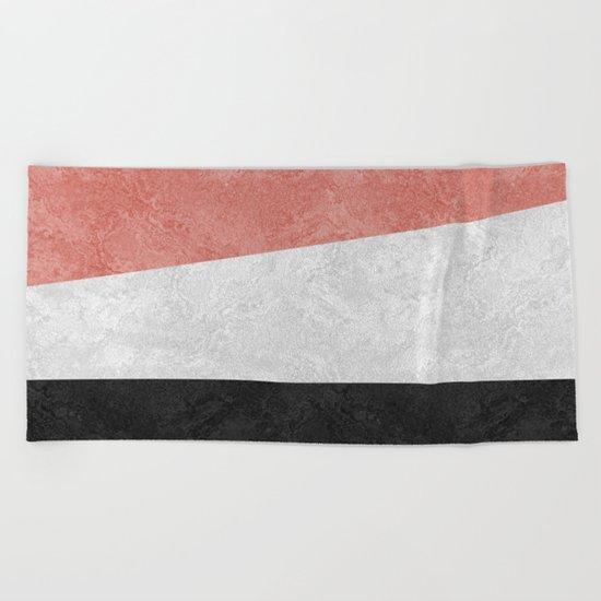 MARBLE 001 Beach Towel