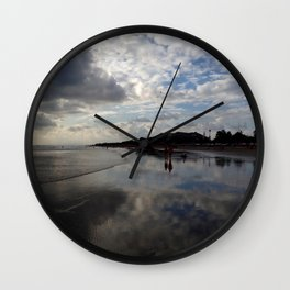 Beach and Sky - Greg Katz Wall Clock