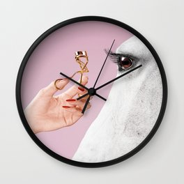 Maybe She's Born With It Wall Clock