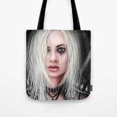 Sword In the Dark: A Gothic Warrior Tote Bag