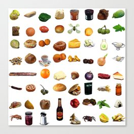 Select Oobites From Year Two, Small Canvas Print