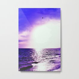 Purple Escape Metal Print