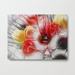 flower design -4- Metal Print
