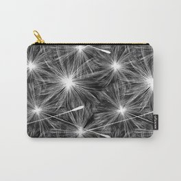 Bright stylish trendy wallpaper with dandelion seeds Carry-All Pouch