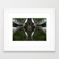 castlevania Framed Art Prints featuring Castlevania by aeolia