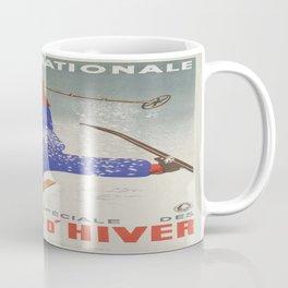 Vintage poster - Sports D'Hiver Coffee Mug