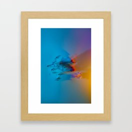Don't Forget to Smell the Flowers Framed Art Print