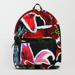 Tiger Lily jGibney The MUSEUM Society6 Gifts Backpack