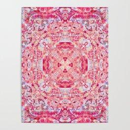 Boujee Boho Rose Tapestry Print Poster