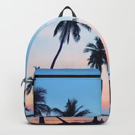 Palms Beach Sunrise Backpack