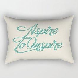 Aspire To Inspire Rectangular Pillow