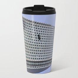 Window Cleaners Canary Wharf Tower Travel Mug