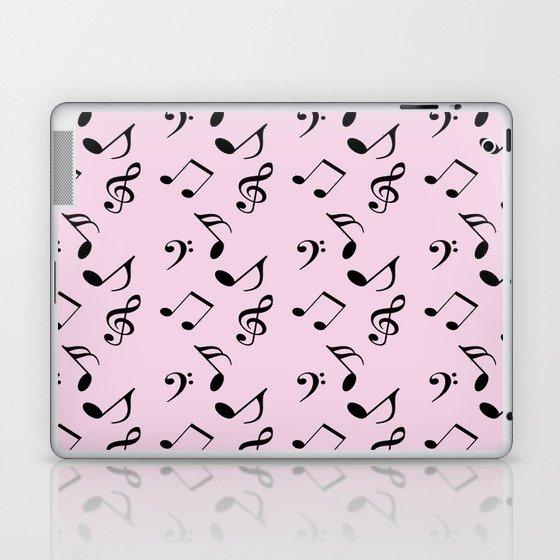 pink music Laptop & iPad Skin