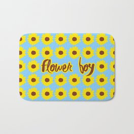 Sunflower Boy Bath Mat