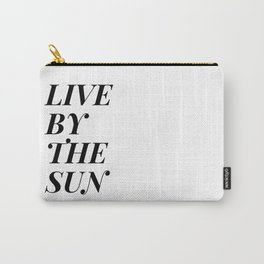 live by the sun love by the moon (1 of 2) Carry-All Pouch