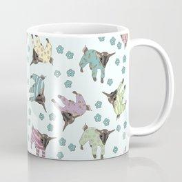 Pajama'd Baby Goats - Blue Coffee Mug