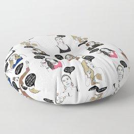 Potomac Ladies Floor Pillow