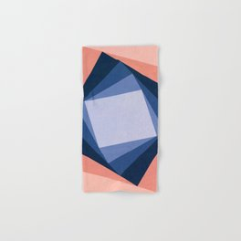 Abstract Square Games Hand & Bath Towel
