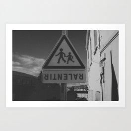 RITNELAR Art Print