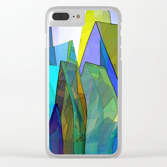 towel full of colors -8- Clear iPhone Case